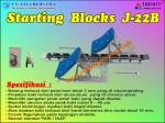 ancang-ancang lari, balok mulai, balok start, penahan lari, start block, start blok, Starting Blocks
