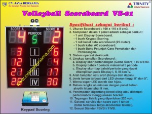 Volleyball Scoreboard VS-01