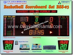basketball scoreboard set, papan nilai skor basket, papan score, papan digital score, papan score basket digital, papan score digital, scoreboard bola basket, digital skor basket komplit, digital scoreboard olahraga