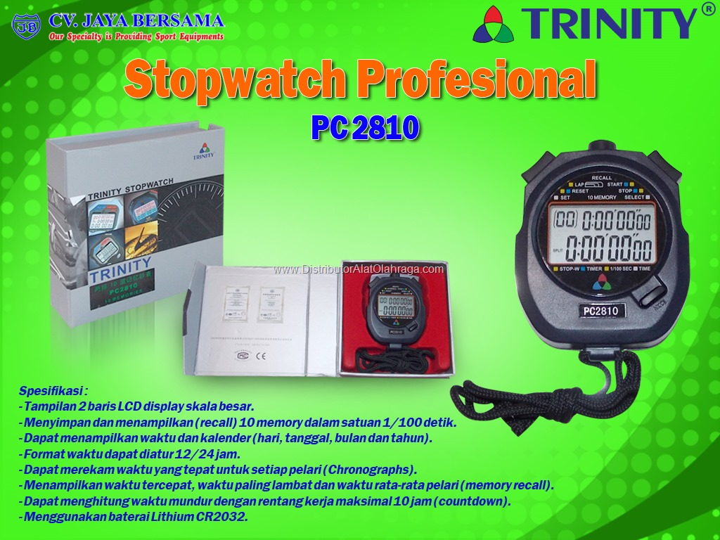 Baru Digital Stopwatch Penghitung Waktu Chronograph Sports With Tali Stopwatch Profesional 10 Memory .