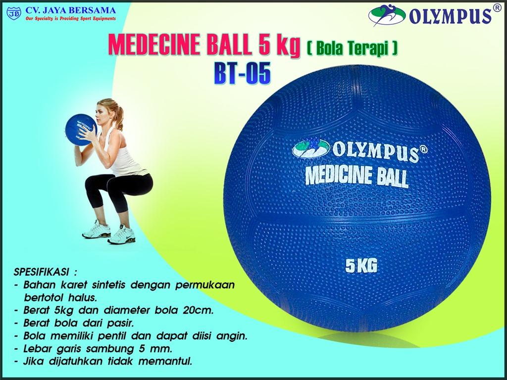 Bola Terapi BT-05 (Medicine Ball 5kg) - DISTRIBUTOR ALAT ...