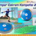 Lempar Cakram Kompetisi 2kg LCK-2
